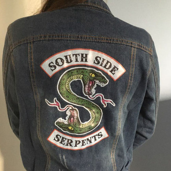 Riverdale Southside Serpents Denim Jacket Merchyes