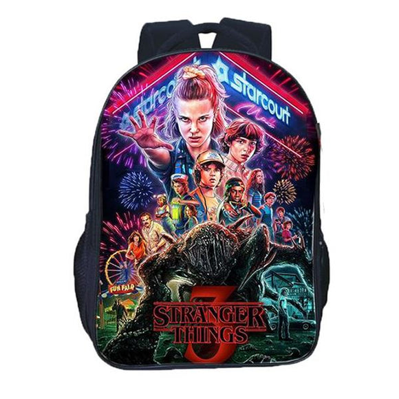 Stranger Things 3 Backpack Merchyes
