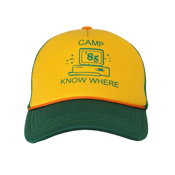 Stranger Things Camp Know Where Cap Hat Merchyes