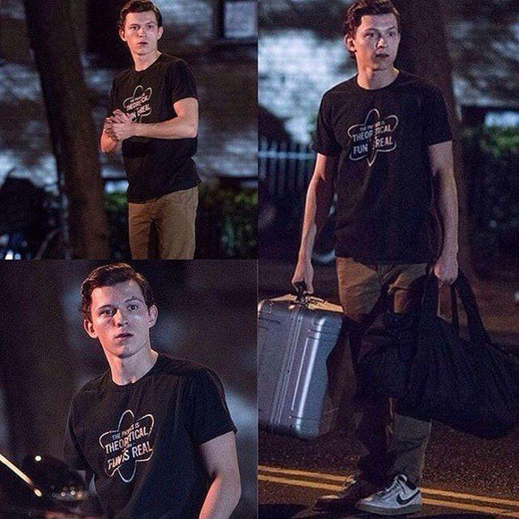 Tom Holland The Physics Is Theoretical T-Shirt Merchyes