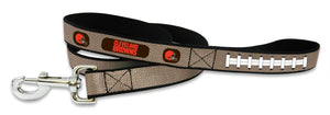 Cleveland Browns Pet Leash Reflective Football Size Large