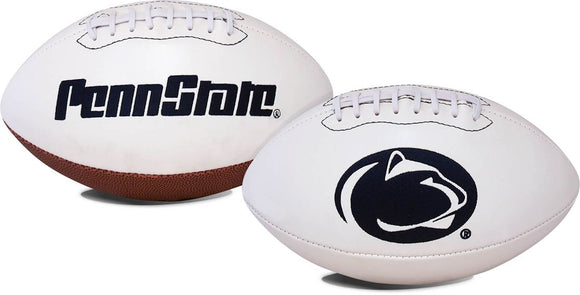 Penn State Nittany LionsFootball Full Size Embroidered Signature Series
