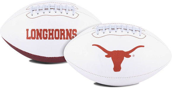 Texas Longhorns Football Full Size Embroidered Signature Series