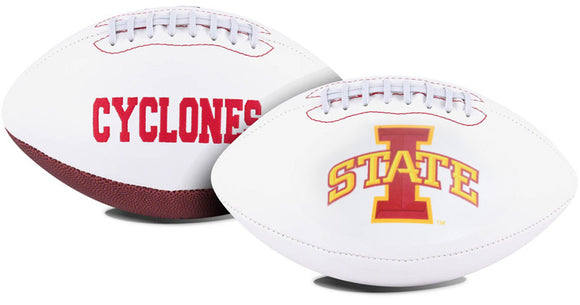 Iowa State Cyclones Football Full Size Embroidered Signature Series