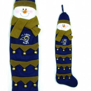 St. Louis Rams Greeting Card Holder 51 Inch Snowman
