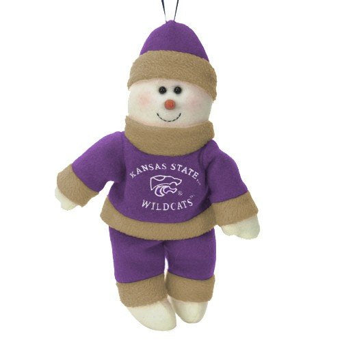 Kansas State Wildcats Snowflake Friends 10 Inch