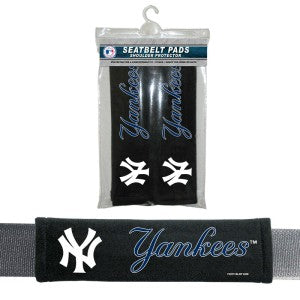 New York Yankees Seat Belt Pads Velour
