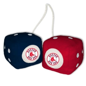 Boston Red Sox Fuzzy Dice