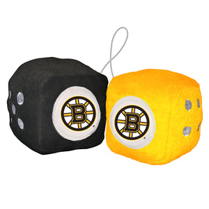 Boston Bruins Fuzzy Dice - Special Order