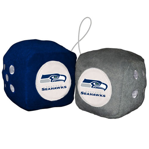Seattle Seahawks Fuzzy Dice