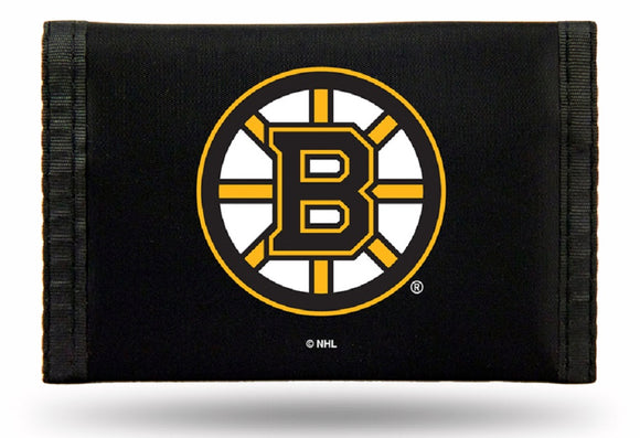 Boston Bruins Wallet Nylon Trifold