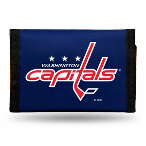 Washington Capitals Wallet Nylon Trifold