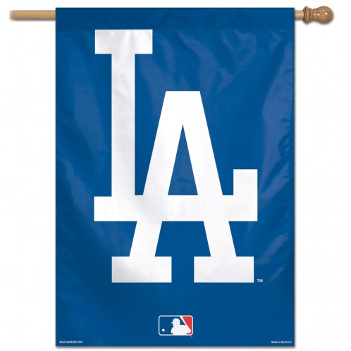 Los Angeles Dodgers Banner 28x40 Vertical
