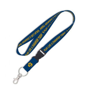 Notre Dame Fighting Irish Lanyard with Detachable Buckle - P.L.A.C.T - Navy