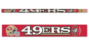 San Francisco 49ers Pencil 6 Pack