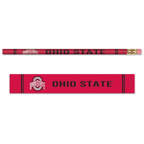 Ohio State Buckeyes Pencil 6 Pack