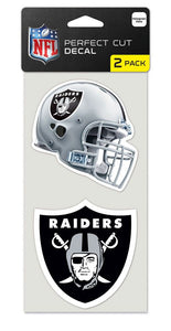 Las Vegas Raiders Set of 2 Die Cut Decals