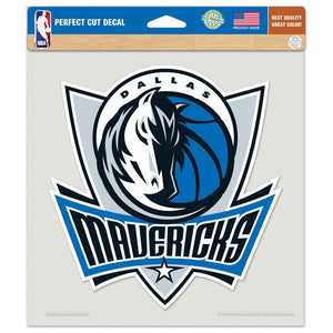 Dallas Mavericks Decal 8x8 Die Cut Color