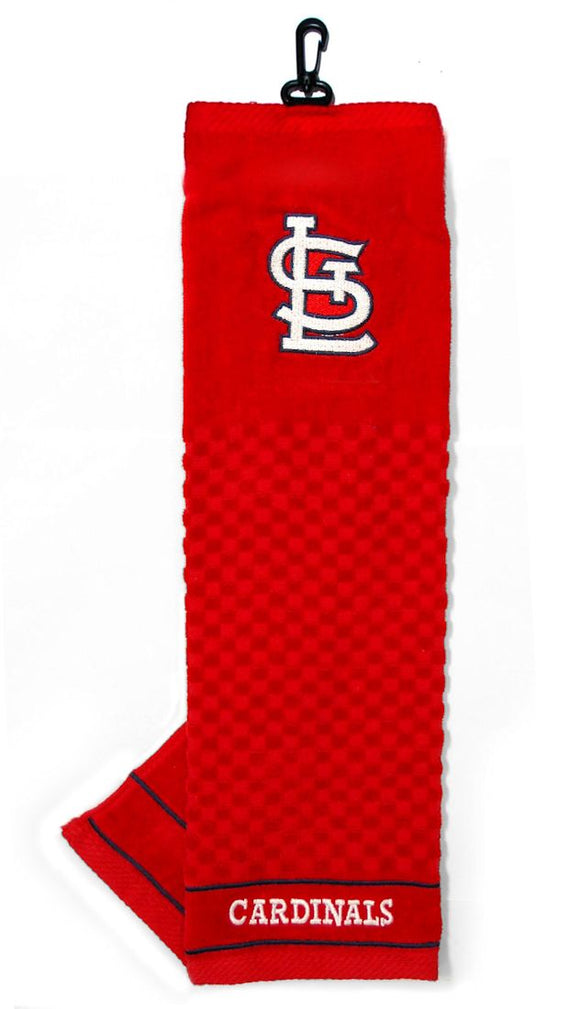 St. Louis Cardinals Golf Towel 16x22 Embroidered