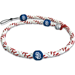 San Diego Padres Necklace Frozen Rope Classic Baseball