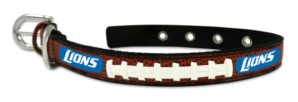 Detroit Lions Dog Collar - Size Small