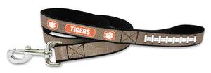 Clemson Tigers Reflective Football Leash - S