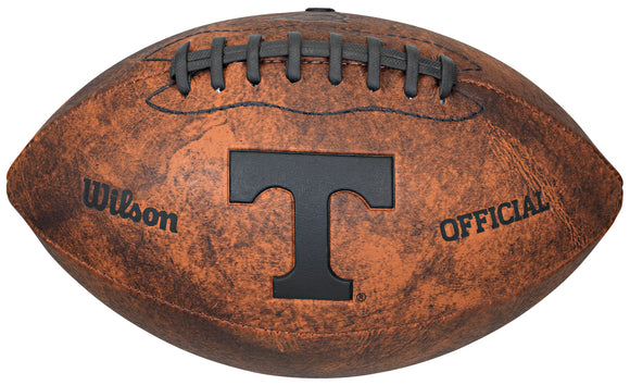 Tennessee Volunteers Football Vintage Throwback 9 Inches