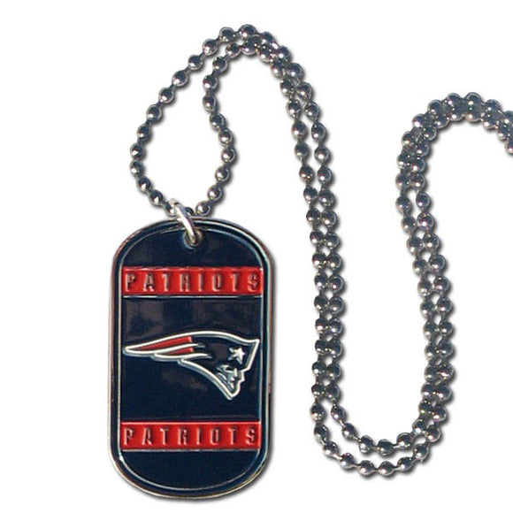 New England Patriots Necklace Tag Style
