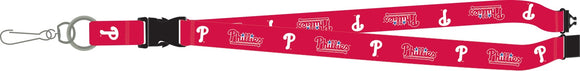 Philadelphia Phillies Lanyard Breakaway with Key Ring Style - Special Order