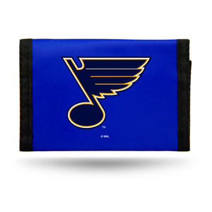 St. Louis Blues Wallet Nylon Trifold