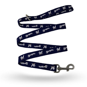 Milwaukee Brewers Pet Leash Size L/XL