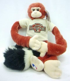 2004 All-Star Game Rally Monkey Plush