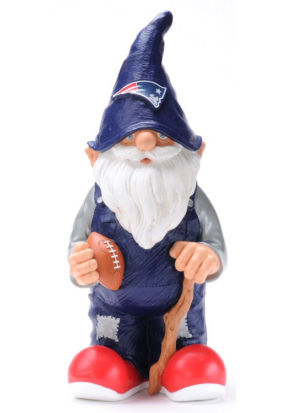 New England Patriots Garden Gnome 11 Inch Team - Special Order
