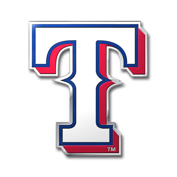 Texas Rangers Auto Emblem Color