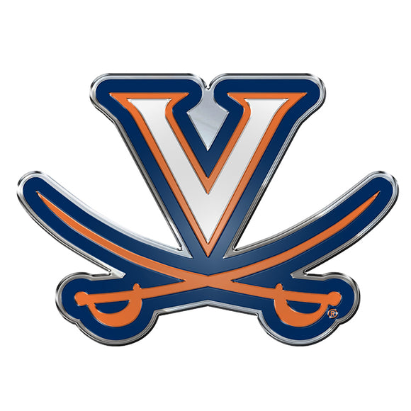 Virginia Cavaliers Auto Emblem Color Special Order