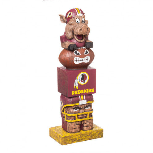 Washington Redskins Tiki Totem