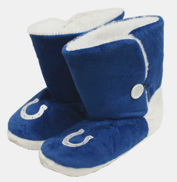 Indianapolis Colts Slippers - Womens Boot