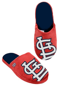 St. Louis Cardinals Slippers - Mens Big Logo