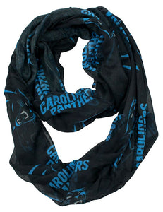 Carolina Panthers Infinity Scarf