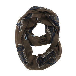Los Angeles Rams Scarf Infinity Style Alternate