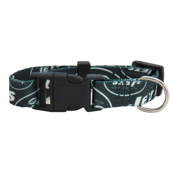 New York Jets Pet Collar Size M - Special Order