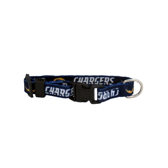 Los Angeles Chargers Pet Collar Size XS