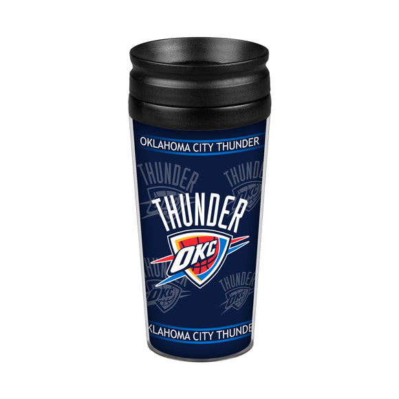 Oklahoma City Thunder 14oz. Full Wrap Travel Mug