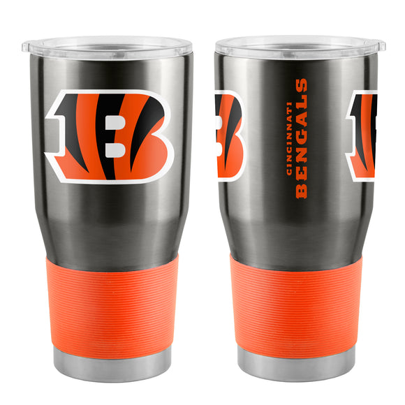 Cincinnati Bengals Travel Tumbler 30oz Ultra Black