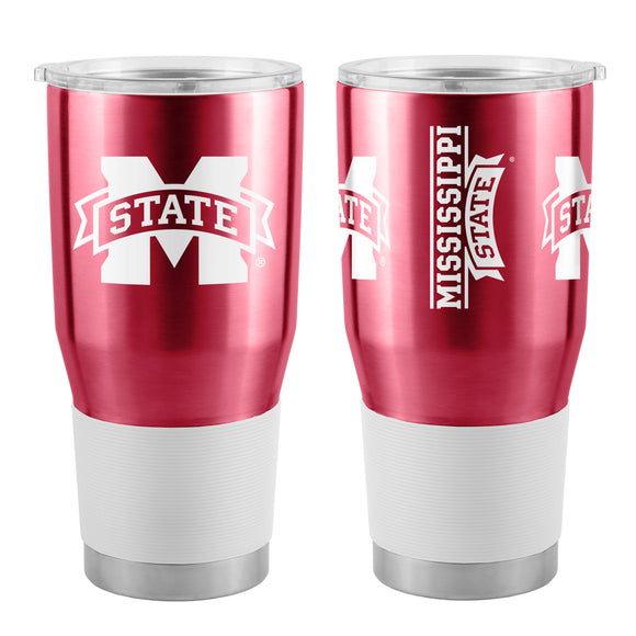 Mississippi State Bulldogs Travel Tumbler 30oz Ultra Burgundy