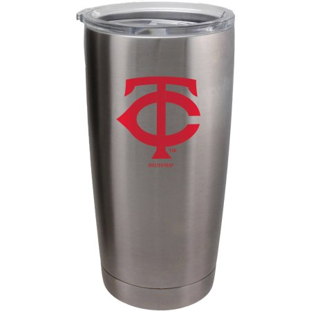 Minnesota Twins Travel Tumbler 20oz Ultra Silver