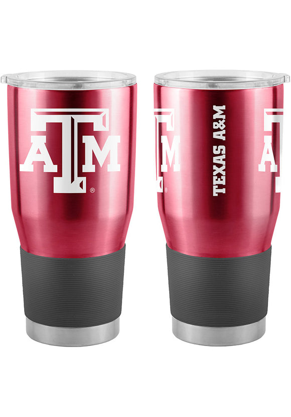 Texas A&M Aggies Travel Tumbler 30oz Ultra Burgundy