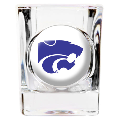 Kansas State Wildcats Square Shot Glass - 2 oz.