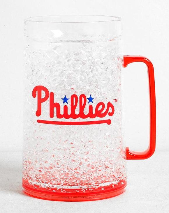 Philadelphia Phillies Crystal Freezer Mug - Monster Size - Special Order