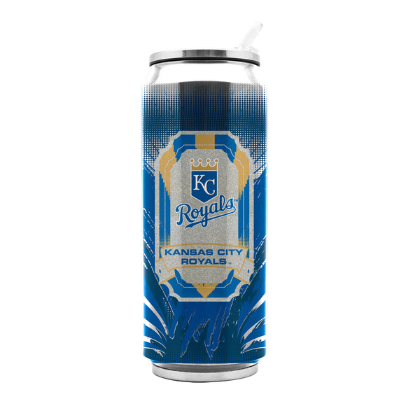 Kansas City Royals Stainless Steel Thermo Can - 16.9 ounces - Special Order